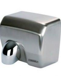 Casselin cb2 krachtige hetelucht handendroger met draaibare blaasmond en RVS behuizing