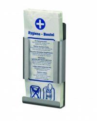 Hygiënezakjesdispenser aluminium