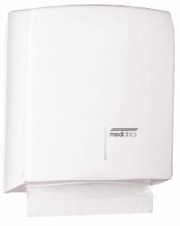 Handdoekdispenser wit