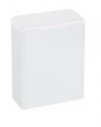 (Hygiëne)bak 6 liter gesloten wit