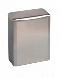 (Hygiëne)bak 6 liter gesloten RVS