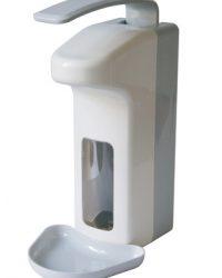 Zeep- & desinfectiemiddeldispenser 1000 ml LB kunststof