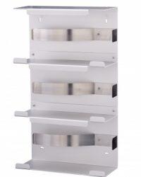 Handschoendispenser trio aluminium