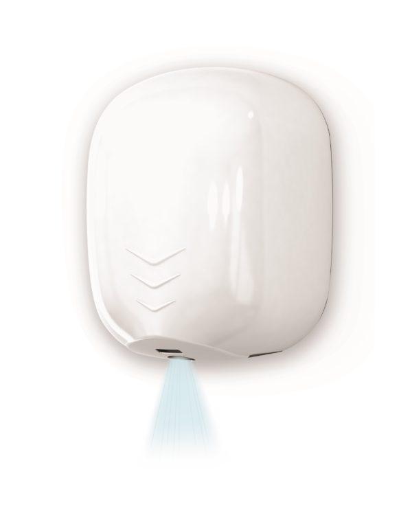 weergave van stream dry handendroger
