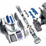 Dyson airblade handendroger AB14 db zilver inclusief verzendkosten