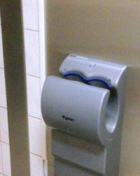 Lekbak of wateropvangbak voor handendroger Dyson Airblade grijs € 125 ex BTW