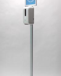 Hygienezuil met automatische dispenser en display