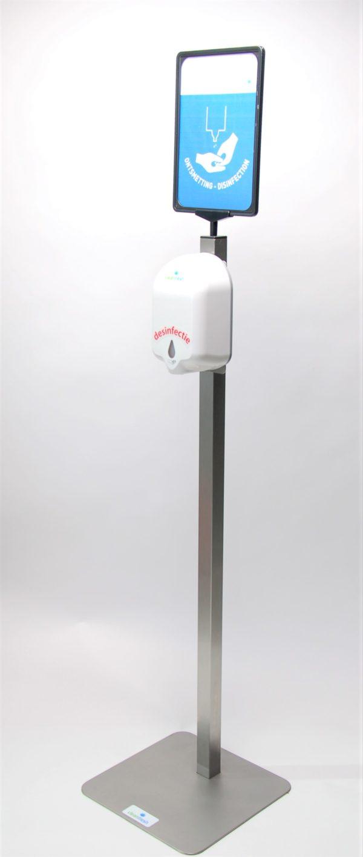 hygiene zuil van RVS