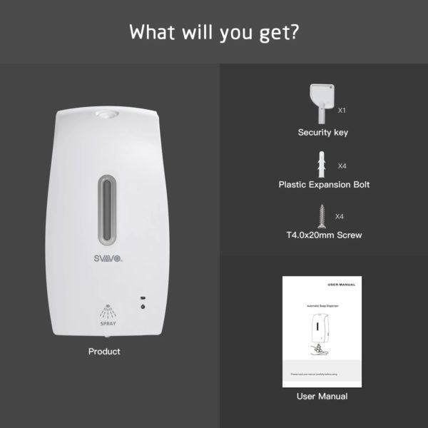 contactloze desinfectie dispenser